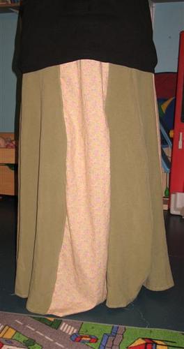new skirt I sewed