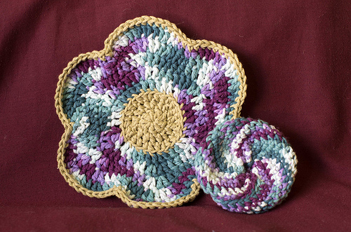 Crocheted Dish sets