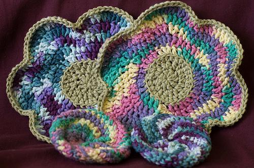 Crochet Dish sets