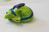 Needle felted sleeping dragon